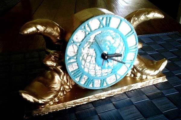 модель STL Часы с гномами