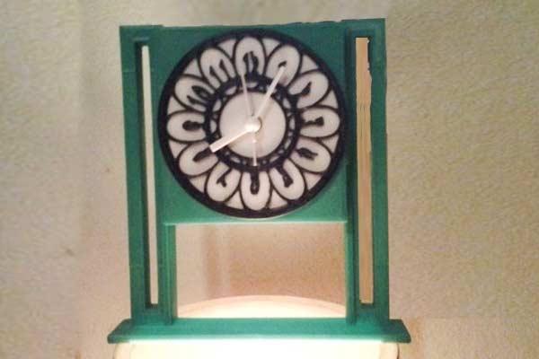 Часы для печати на 3D принтере в STL