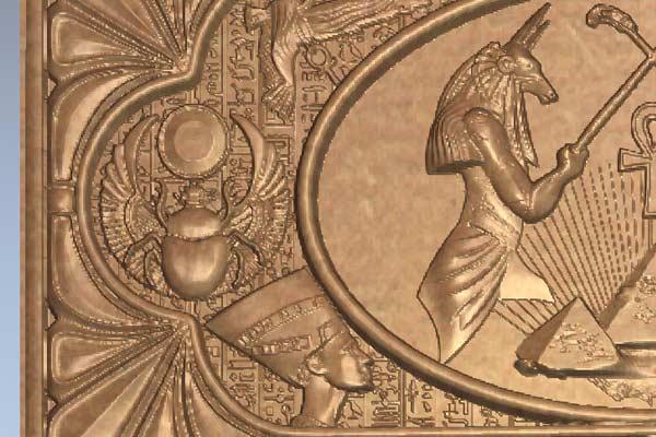 Нарды Египет STL модель
