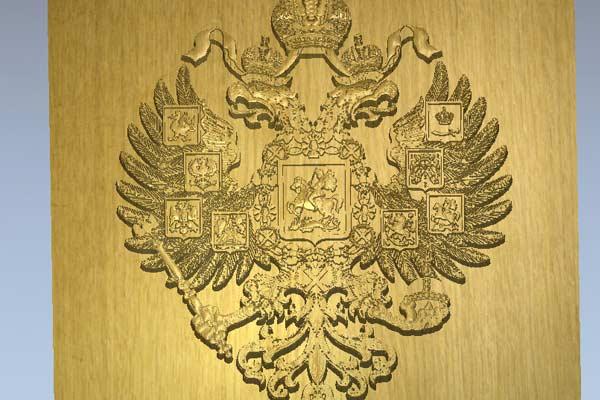 Герб России STL модель