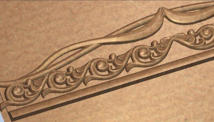 3D модель багет в stl формате